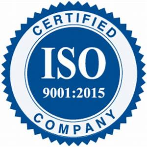 ISO: 9001-2015 Certified